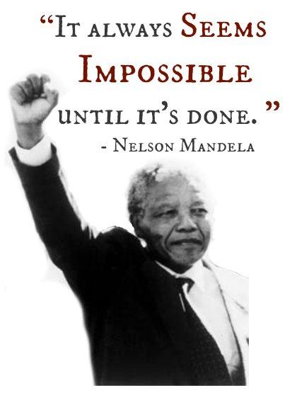 Nelson Mandela: An inspirational leader