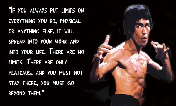 Dealing with Reality: A lesson from Bruce Lee