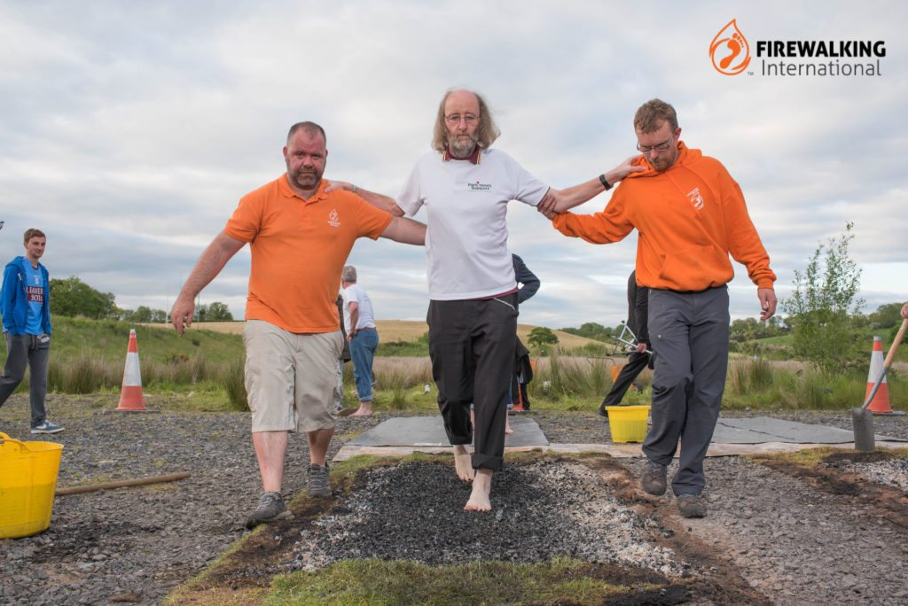 Parkinson's Firewalk Fermanagh