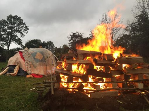 New Year Sweat Lodge