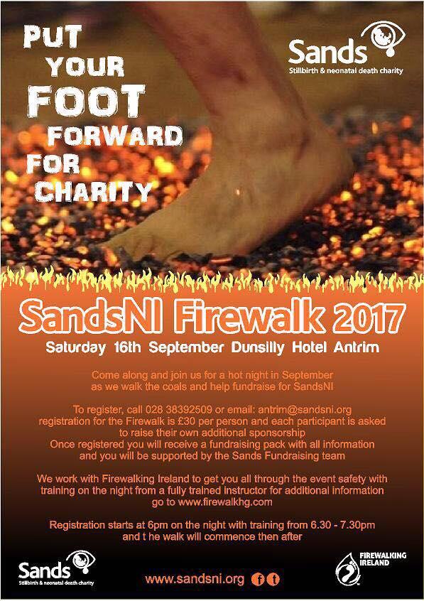Sands NI Firewalk