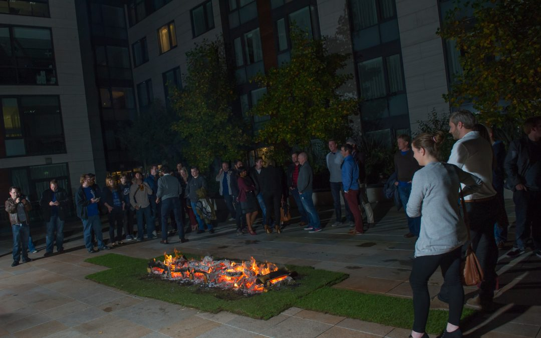 Team Benefits from a Corporate Firewalk