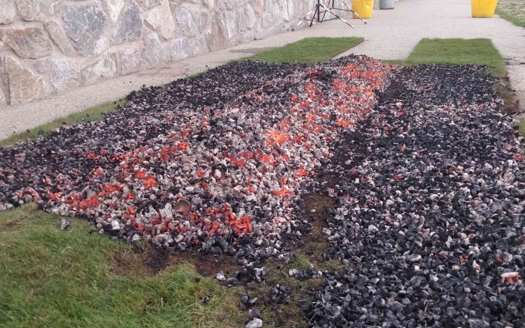 Can you Conquer the Hot Coals for Headway?
