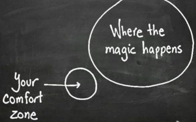 Why it's important to get outside the comfort zone