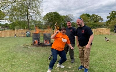 Myeloma UK Charity Firewalk Raises over £10,000